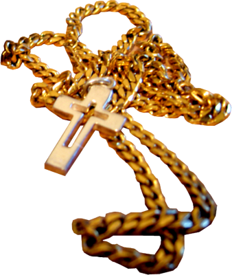 15 Gold Cross PSD Images