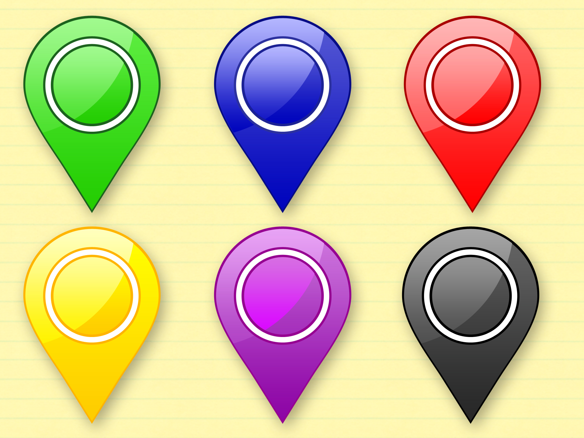 Free Google Maps Pointer Icon: World Map Icon, Map Pointer Icon