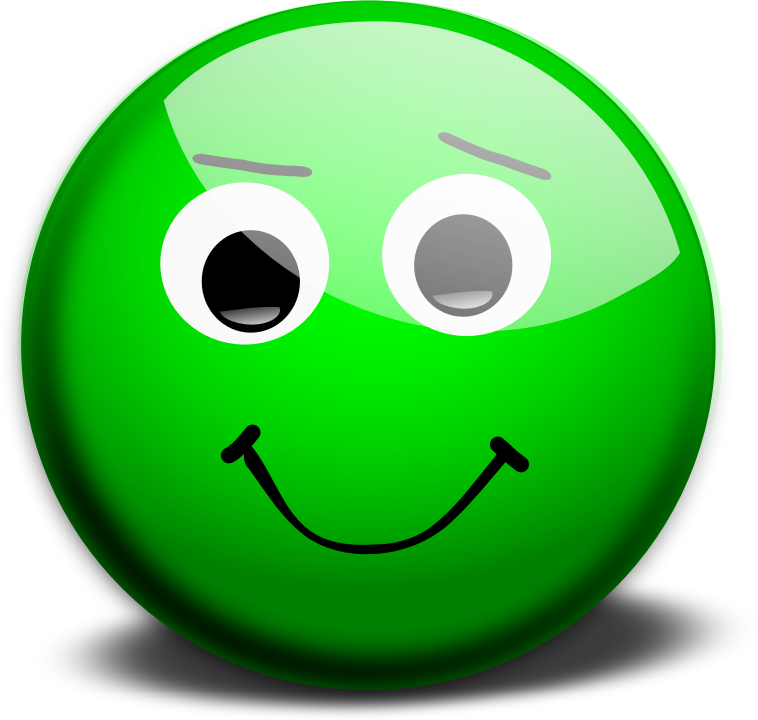 14 Green Emoticon Laughing Images