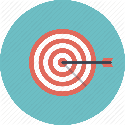 10 Business Goals Icon Images Bullseye Target Icon Goal