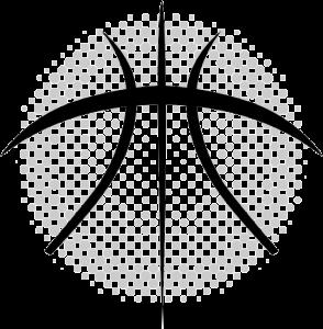Half Basketball Graphic Designs