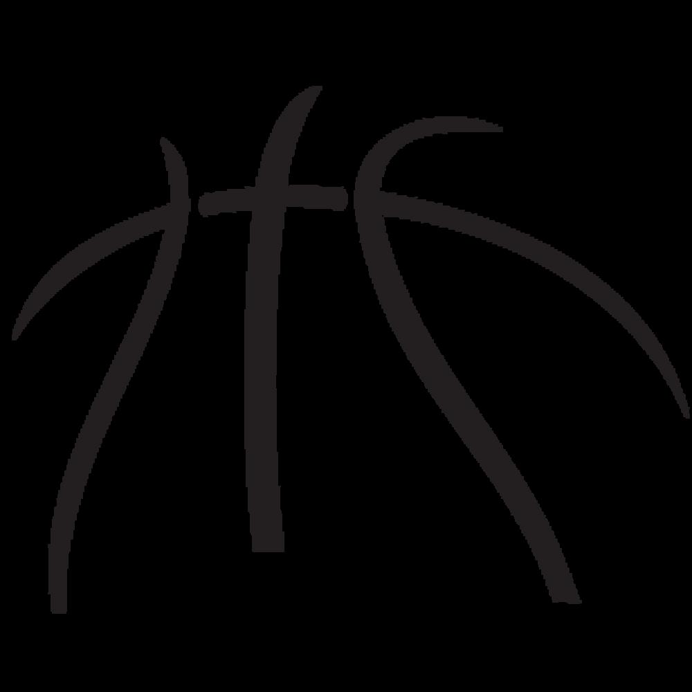 Half Basketball Logos Clip Art