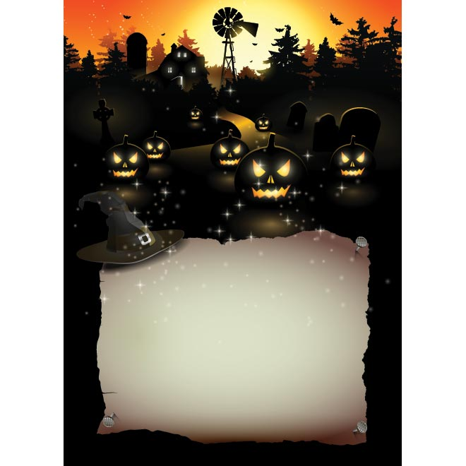 12 Halloween Posters Templates Images