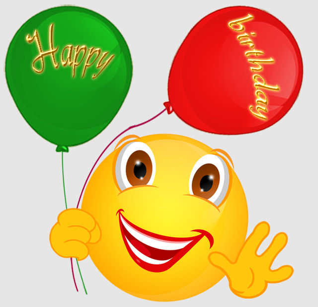 8 Happy Birthday Emoticons Images - Happy Birthday Smileys ...