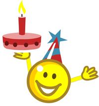 Happy Birthday Smileys Emoticons