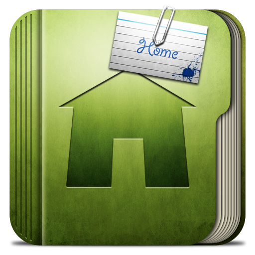 14 Home Icon PNG Folder Images