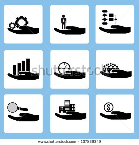 9 Resource Allocation Icon Images