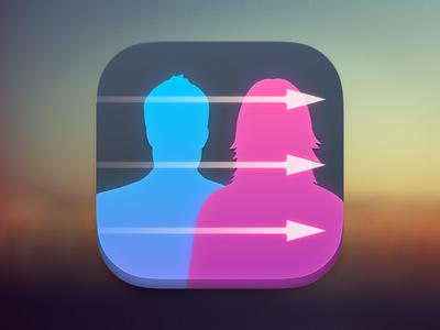 iOS Contacts App Icon