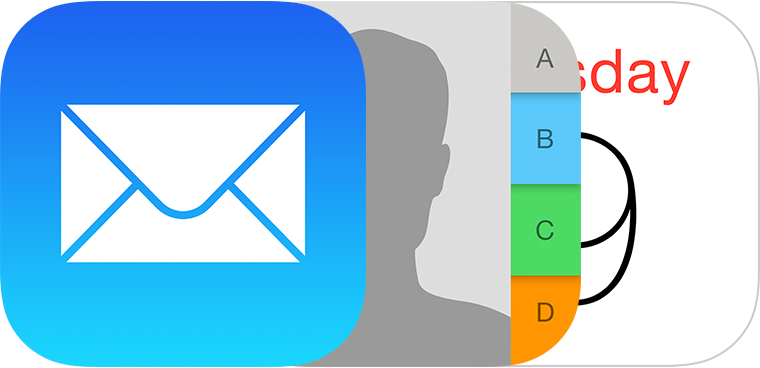 iPhone Mail App Contacts