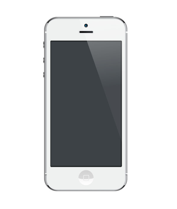 iPhone PSD Template Free