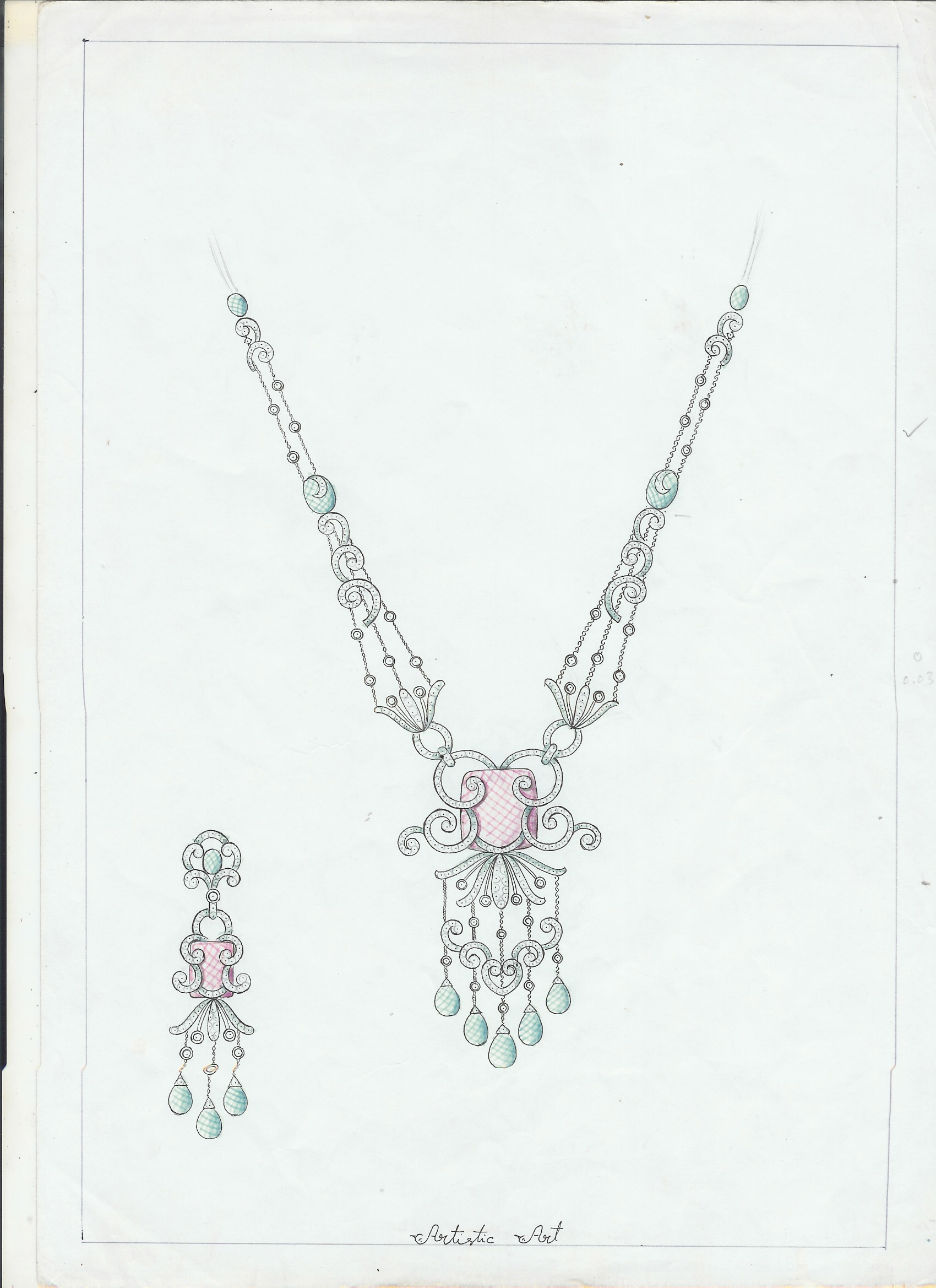 12 Sketches Design Jewelry Images - Jewelry Design Sketches ...