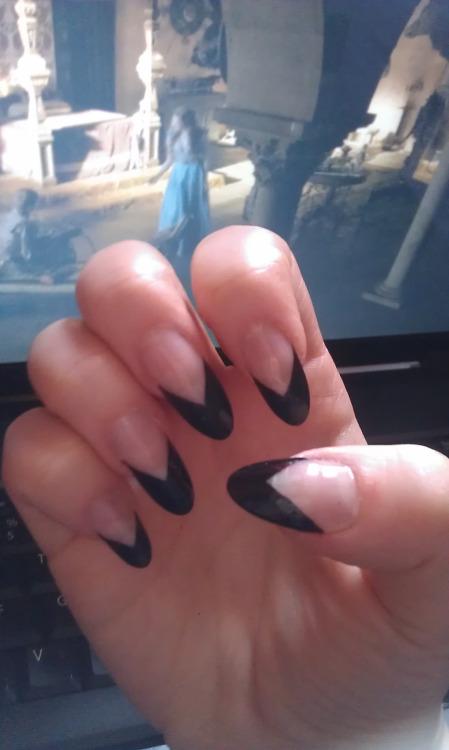 Long Sharp Nails Tumblr