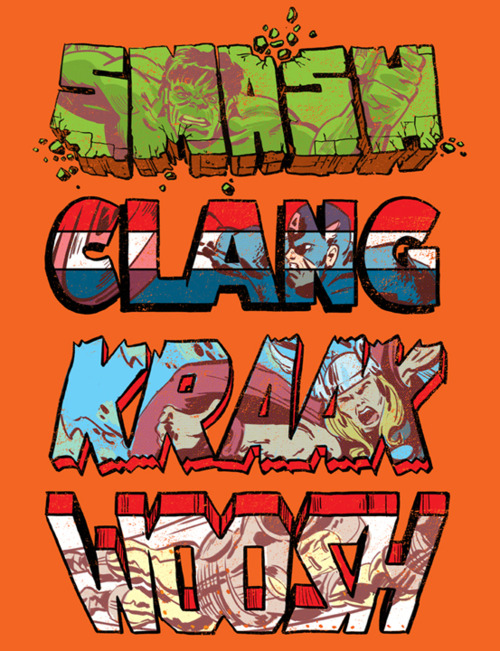 Marvel Comic Book Font