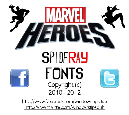 Marvel Comic Fonts Free