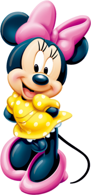 13 Red Minnie Mouse PSD Images