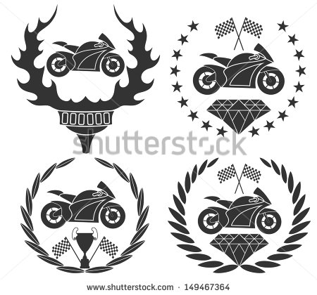 Motorcycle Club Logo Vector