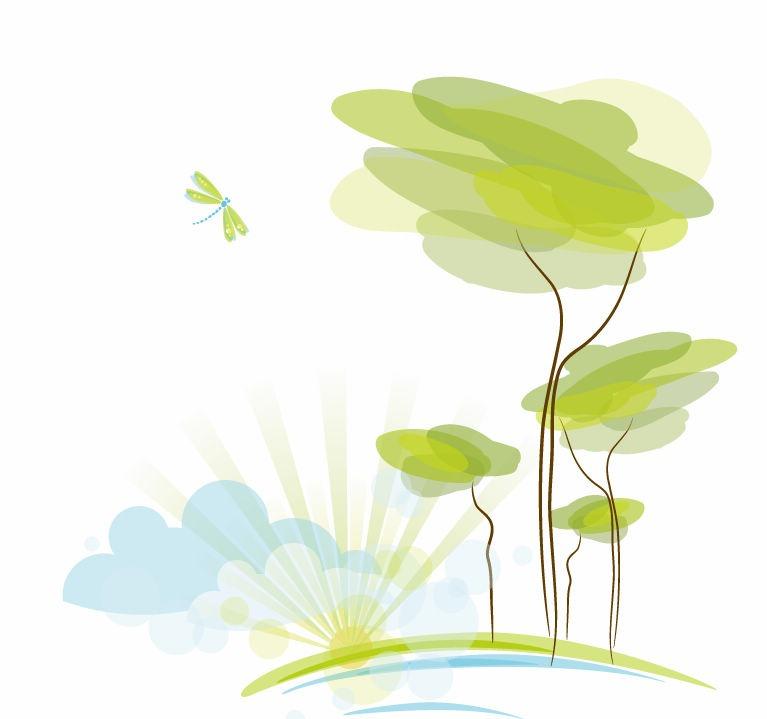 15 Vector Nature Desktop Backgrounds Images