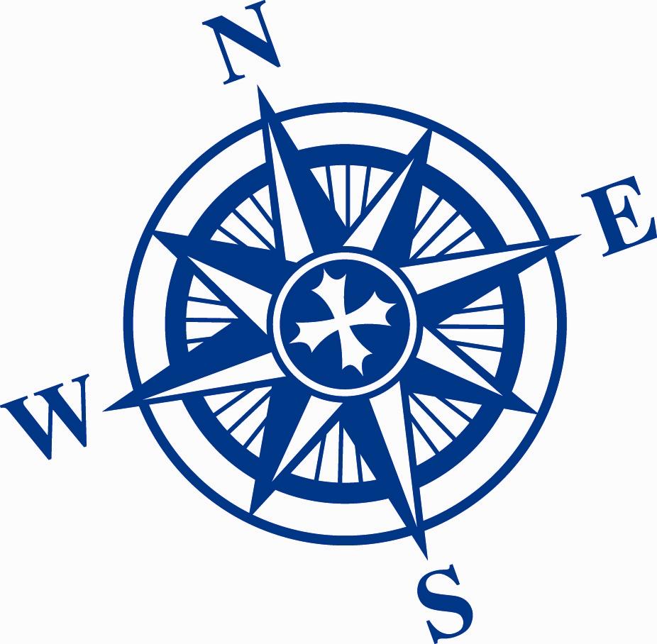 Nautical Compass Rose Clip Art