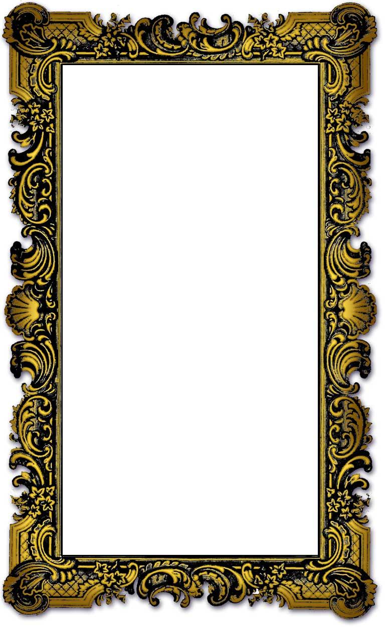 Old Border Frames for Photoshop