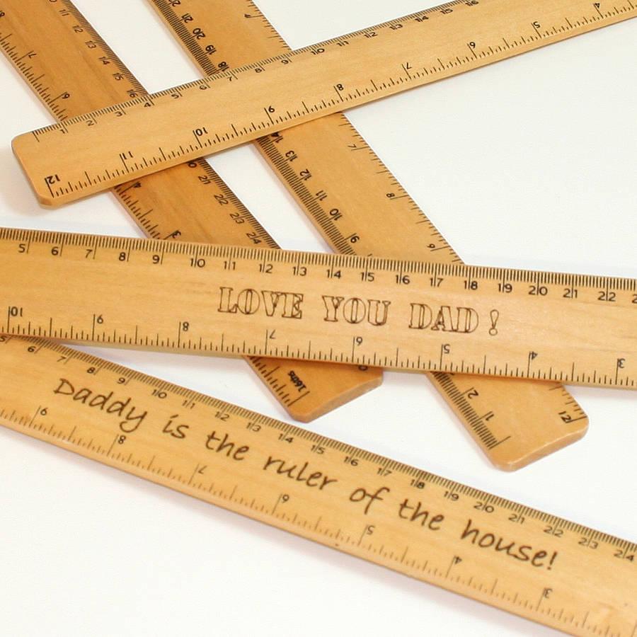 5 Wooden Ruler Font Images
