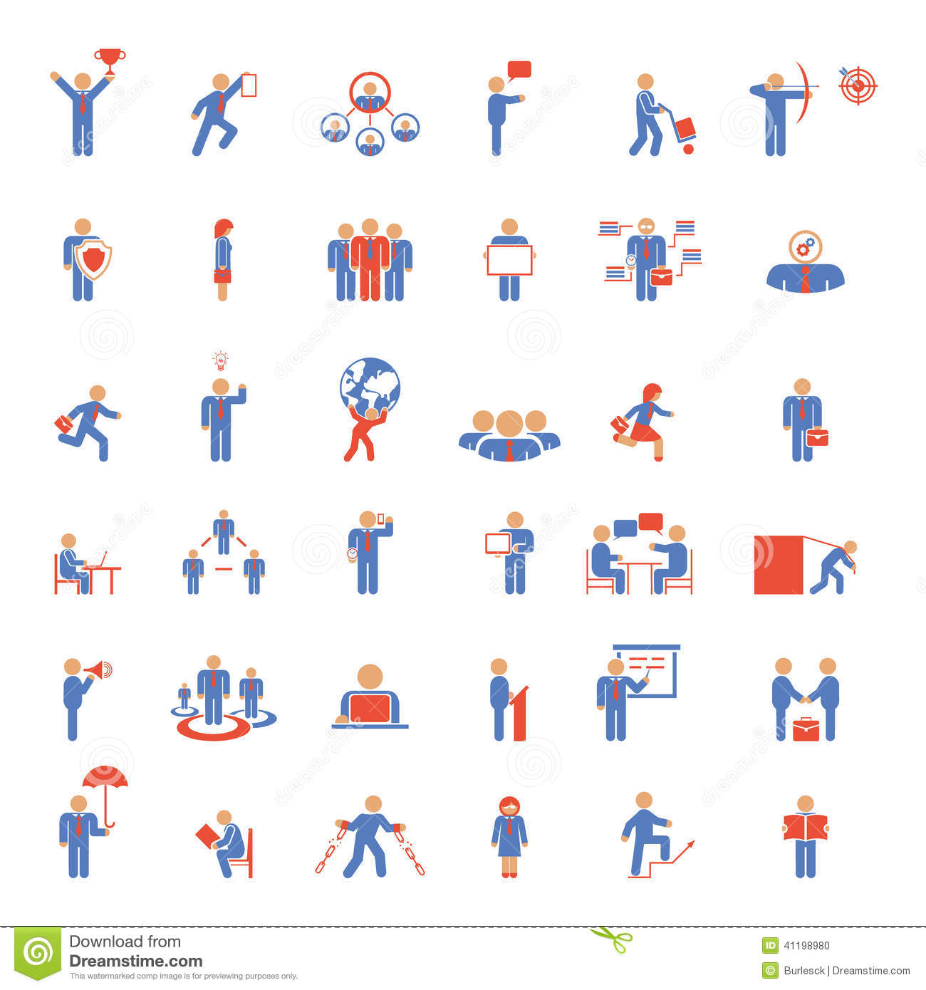 12 Blue Vector Meetings Images