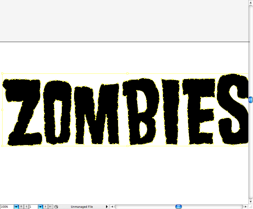 6 Zombie Letter Font Images