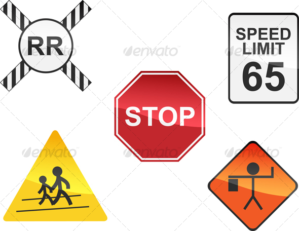 Railroad Traffic Sign Printable