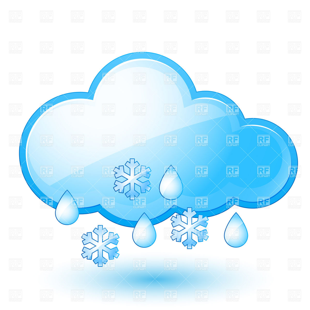 6 Snow Weather Icon Images