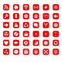 Red Folder Icon Sets
