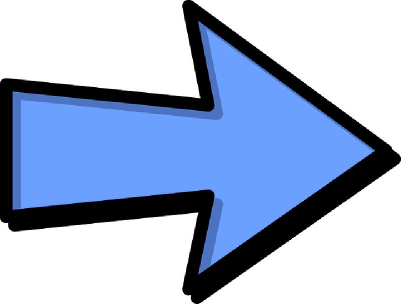 Right Arrow Clip Art