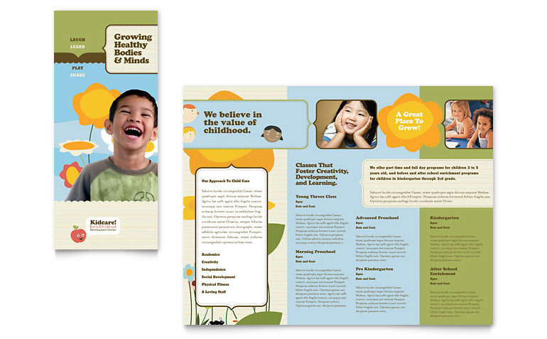 16 Free Brochure Templates School Use Images