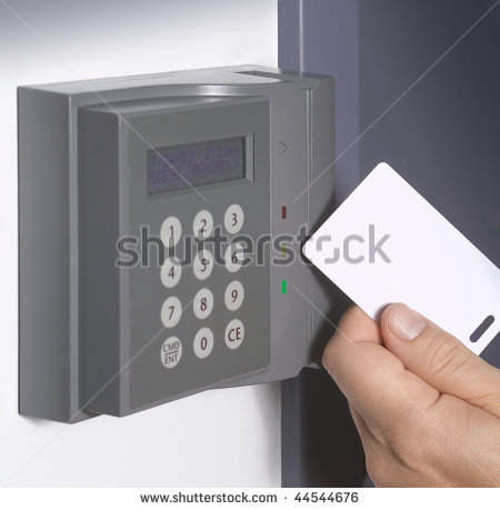 Security Gate Access Card Readers