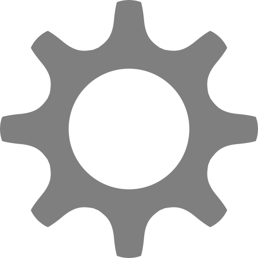 Settings Gear Icon