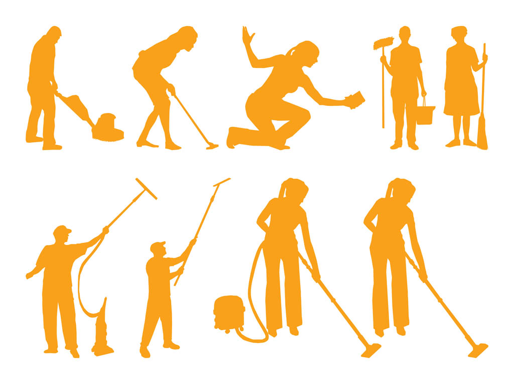 13 Cleaning Vector Drawing Images