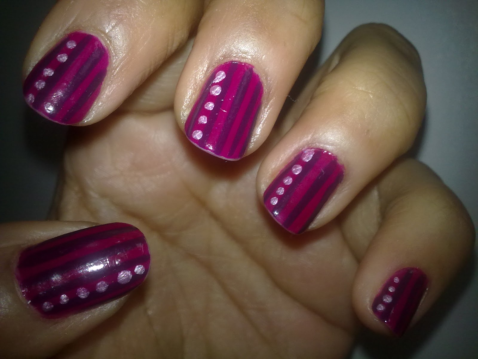 14 Simple Nail Art Designs To Do At Home Images Easy To Do At Home