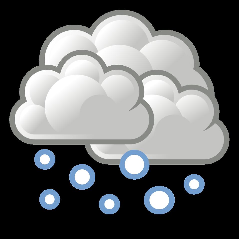 Snow Cartoon Weather Clip Art