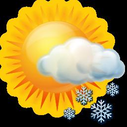 Snow Symbol Weather Icon