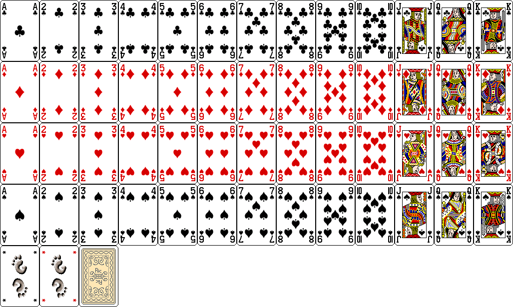 Standard Playing Card Deck