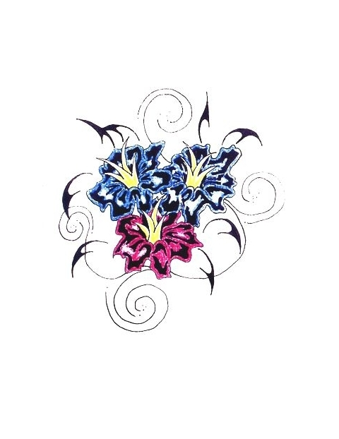 17 Swirly Flower Designs Images Free Vector Floral Swirl
