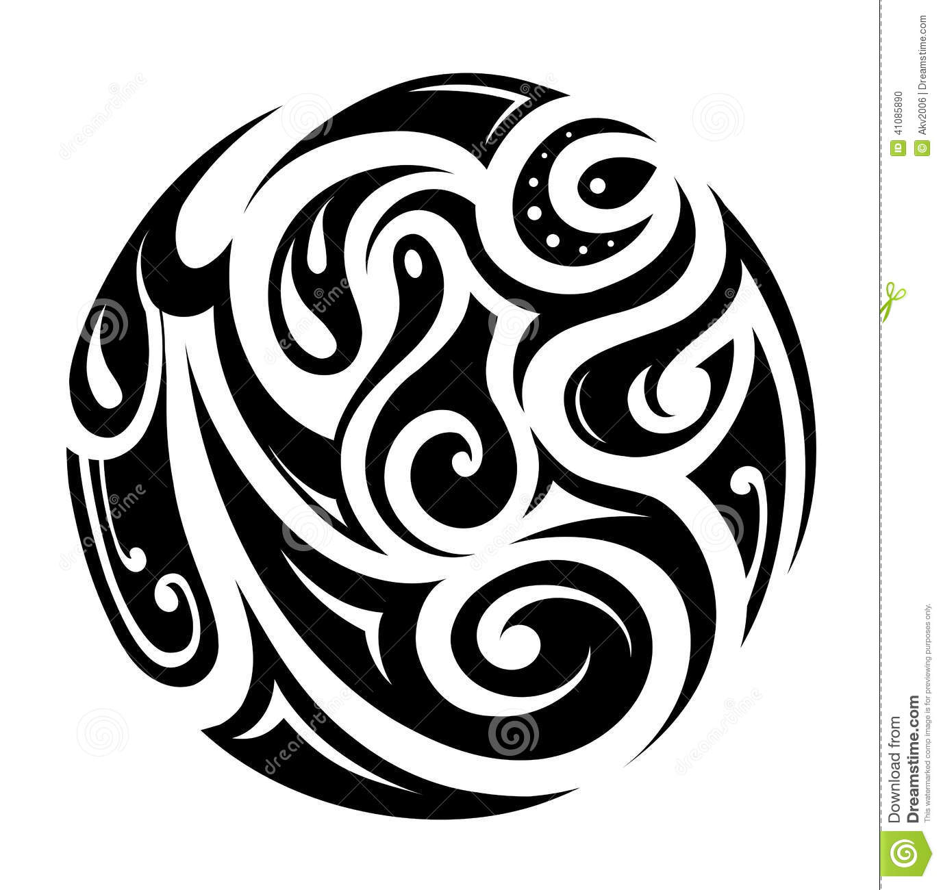 14 Circle Tribal Vector Images