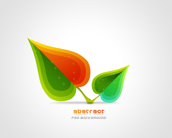 5 PSD Leaf Pattern Images