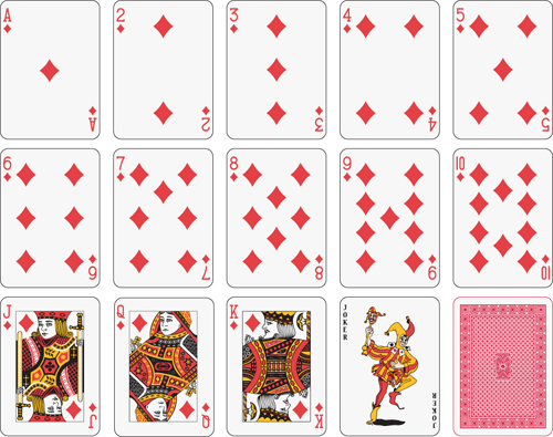 17 playing card template vector images free vector playing cards playing card vector and free. Black Bedroom Furniture Sets. Home Design Ideas