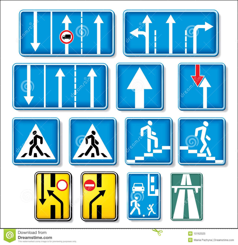 Vector Traffic Signs