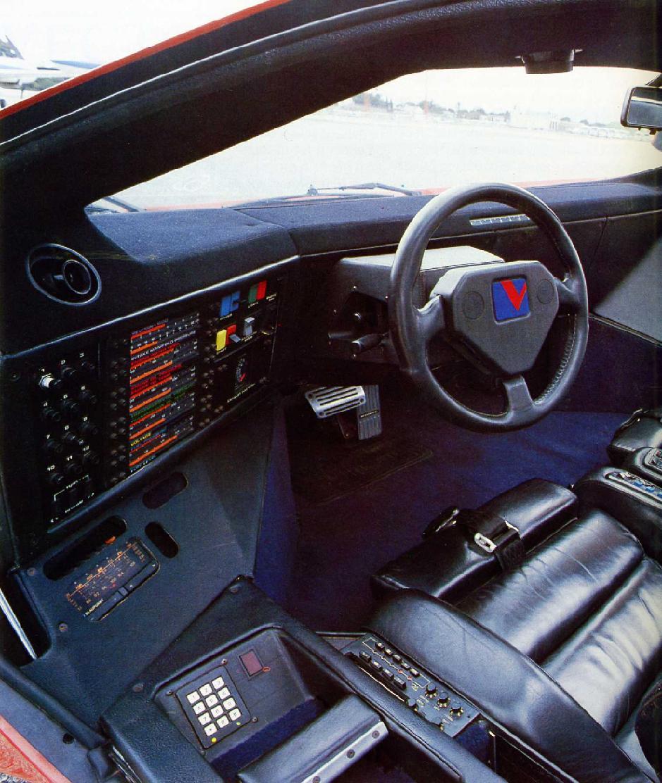 Vector W2 Twin Turbo Interior