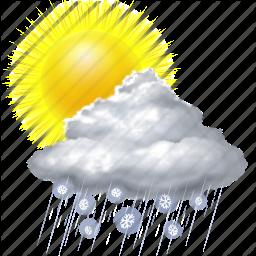 Weather Sun Rain Snow
