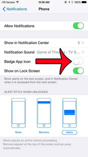 What Is the Badge App Icon On iPhone