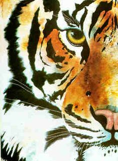 Wild Animal Art Paintings