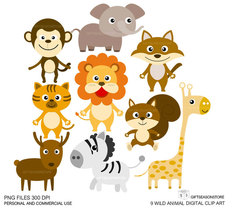 Wild Animal Clip Art