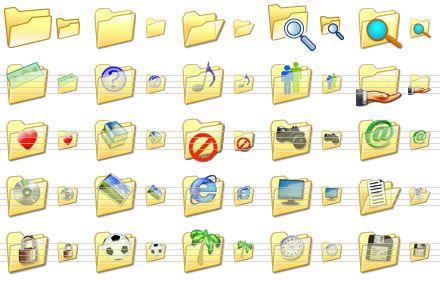 Windows XP Folder Icon 16X16
