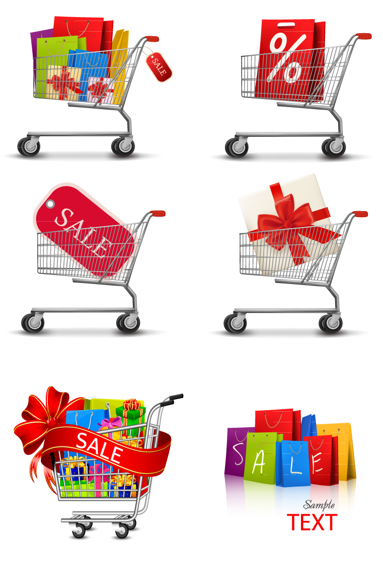 A Shopping Cart Icon Vector Free Download